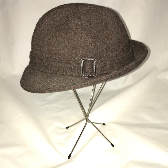 8299b9680cb46 Pendleton Hat Fedora Brown 100% Virgin Wool. M 5ba7d3873e0caa02dfb4e250